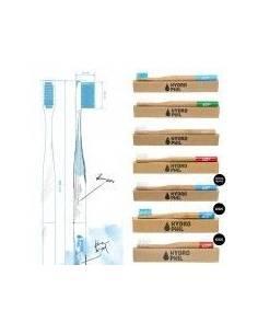 "@Cepillo de Dientes  Medium Bambú Nylon Verde Ecológico de ""Hydro Phil"""