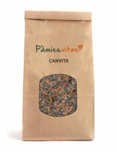 """Canvita Mezcla de Plantas Ecológicas Para Combatir Procesos Cancerosos y Tumorales de """"Pàmies Vitae"""" ( 120 g)"""