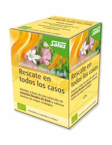 """@Infusión Rescate en Todos los Casos de Flores de Bach de """"Satus"""" (20 sobres/30gr)"""