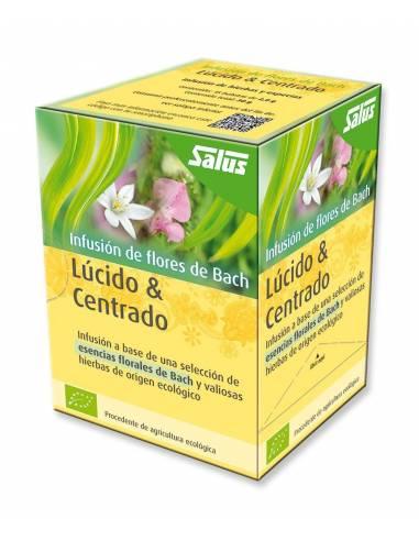 """Infusión Lúcido & Centrado de Flores de Bach"""" (15 bolsas/30 gr)"""