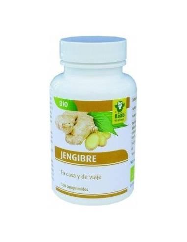 """Jengibre Bio de """"Raab Vitalfoood"""" (360 comprimidos de 250 mg)"""