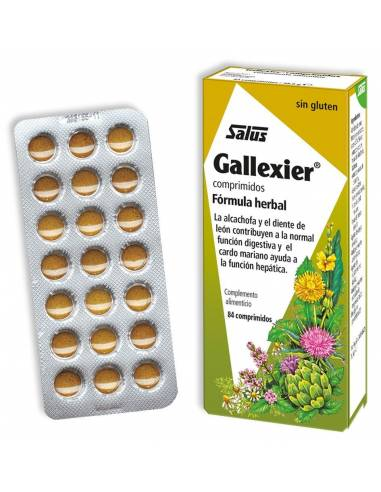 "Gallexier Comprimidos Fórmula Herbal ""Salus"" (250 ml)"