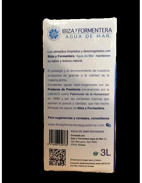 "Agua de Mar Ecológica de ""Ibiza y Fomentera"" (3L)"