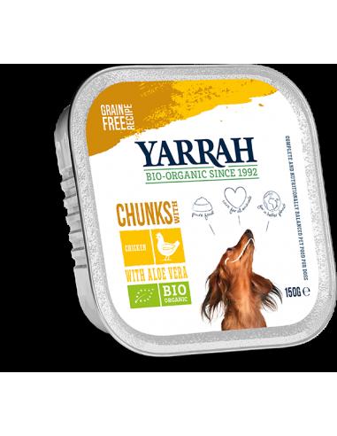 Paté con pollo para  perros Yarrah 150g