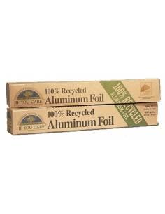 Papel de Aluminio 100% Reciclado. 12m X 30 cm.