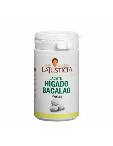"""Aceite de Hígado de Bacalao en Perlas de """"Ana Maria Lajusticia"""" (62 gr)"""