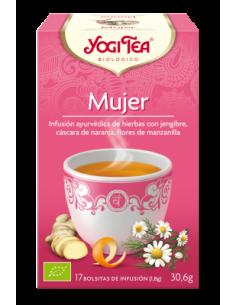 """Infusión para la Mujer Ecológica de """"Yogi Tea"""" (17 bolsas / 30.6 gr)"""