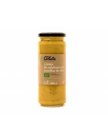 Crema de calabaza con semillas de chía 450g