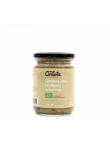 Quinoa con verduras y salsa soja 425g
