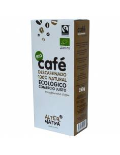 CAFÉ DESCAFEINADO MOLIDO
