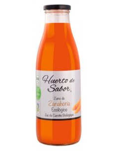"Zumo de Zanahoria Ecológica de ""Huerto de Sabor"" (750 ml)"