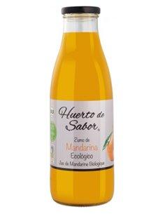 """Zumo de Mandarina Ecológica de """"Huerto de Sabor"""" (750 ml)"""