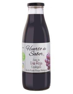 """Zumo de Uva Roja Ecológica de """"Huerto de Sabor"""" (750 ml)"""